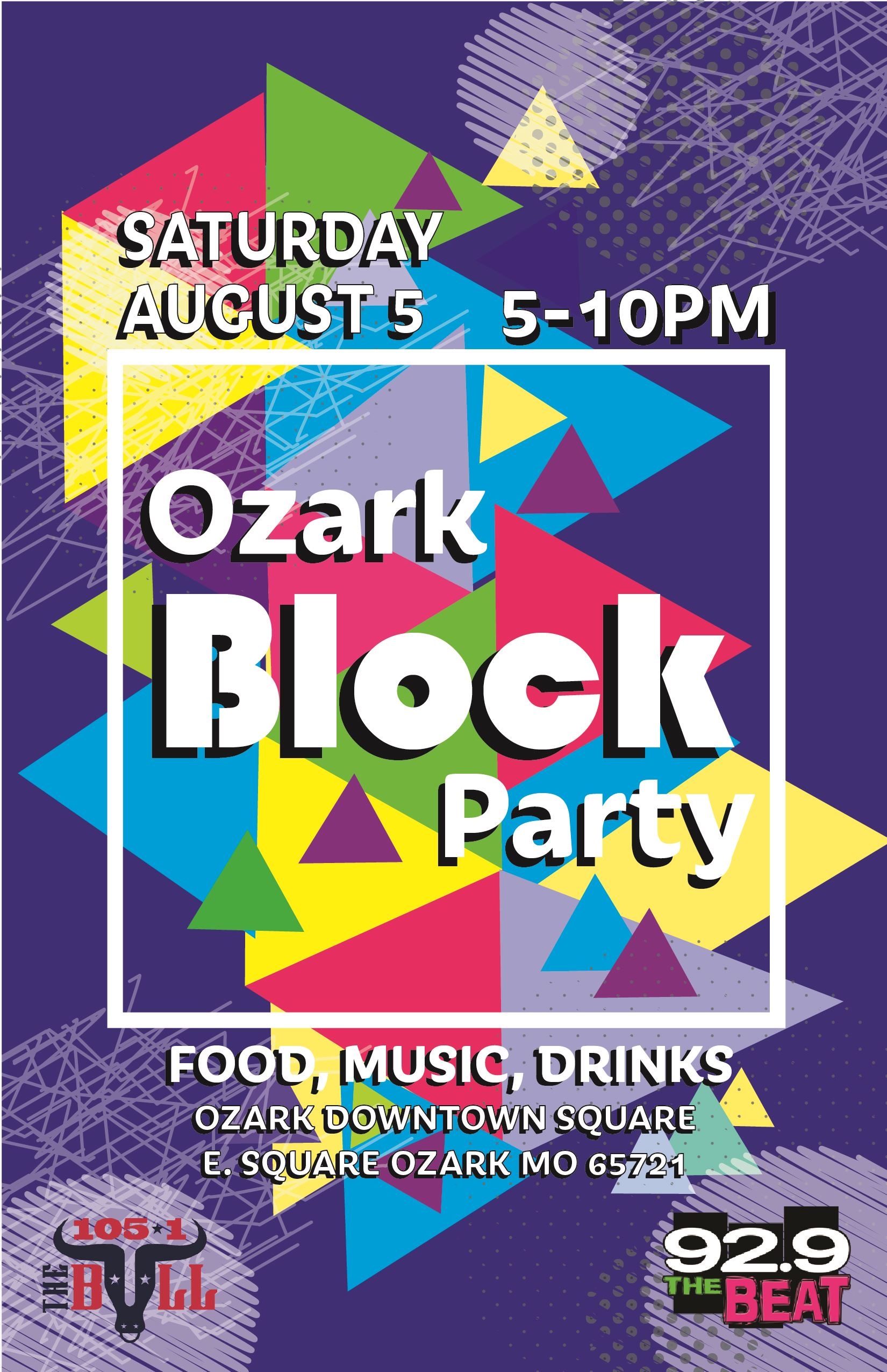 ozark block party poster .04-01