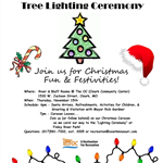 Mayor tree lighting